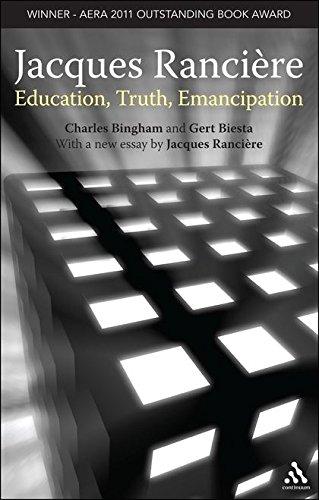 9781441132161: Jacques Ranciere: Education, Truth, Emancipation