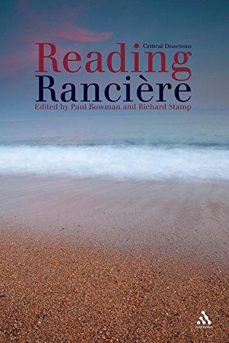 9781441137814: Reading Ranciere: Critical Dissensus