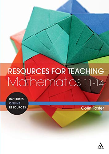 9781441142276: Resources for Teaching Mathematics: 11-14