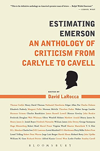 9781441164865: Estimating Emerson: An Anthology of Criticism from Carlyle to Cavell