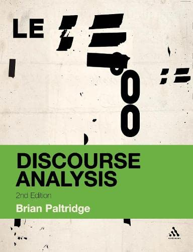 9781441167620: Discourse Analysis: An Introduction (Bloomsbury Discourse)