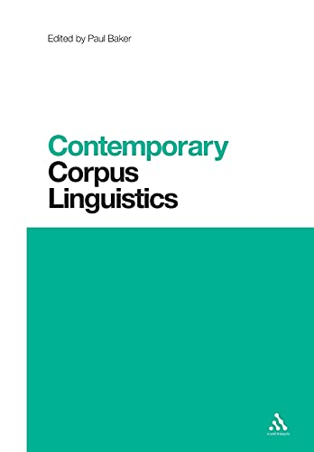 9781441181336: Contemporary Corpus Linguistics (Contemporary Studies in Linguistics)