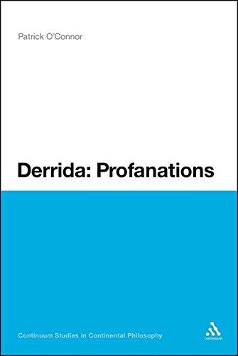 9781441181701: Derrida: Profanations (Continuum Studies in Continental Philosophy)