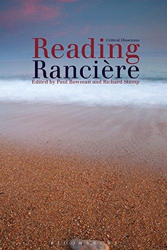 9781441190376: Reading Ranciere: Critical Dissensus