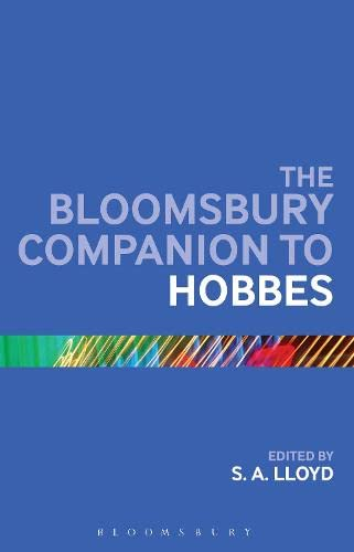 9781441190451: The Bloomsbury Companion to Hobbes (Bloomsbury Companions)