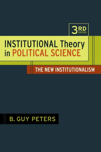 9781441192868: Institutional Theory in Political Science: The New Institutionalism