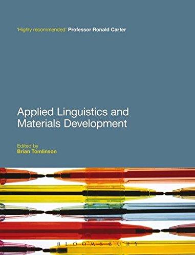 9781441195036: Applied Linguistics and Materials Development