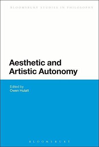 9781441196521: Aesthetic and Artistic Autonomy (Bloomsbury Studies in Philosophy)