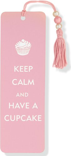 9781441302892: Keep Calm and Have a Cupcake Beaded Bookmark