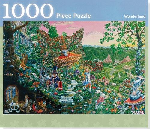 9781441303134: Alice In Wonderland 1,000 Piece Jigsaw Puzzle