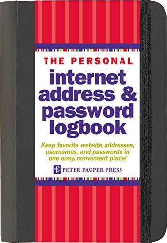 9781441303257: Internet Address Password Log Black