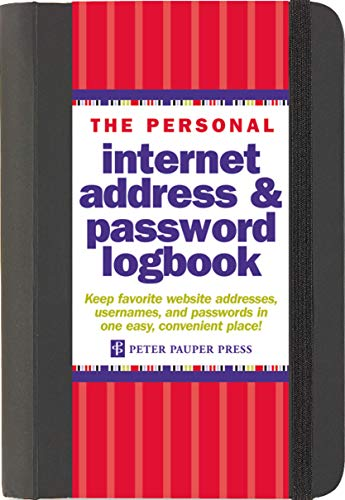 9781441303257: The Personal Internet Address & Password Log Book