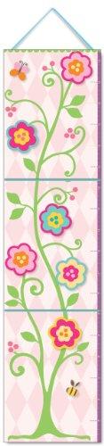 Nursery Growth Chart - Flowers (Little Me Keepsake) (9781441303400) by Kerren Barbas
