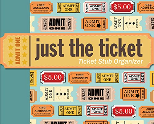 9781441303509: Just the Ticket: Ticket Stub Organizer