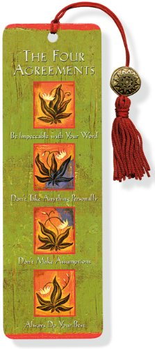 Beaded Bookmark Four Agreements (Hardback) 9781441303769 Let The Four Agreements accompany your reading! This attractive bookmark, based on don Miguel Ruiz' bestseller, features Nicholas Wilton