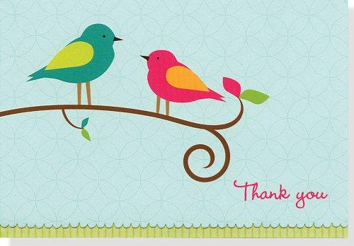 9781441303899: Thank You Notes Bird Song