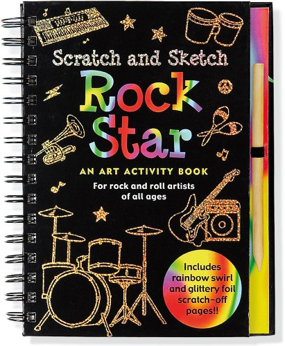 9781441304339: Rock Star Scratch & Sketch (An Art Activity Book for Rock 'n' Rollers for all Ages) (Scratch and Sketch)