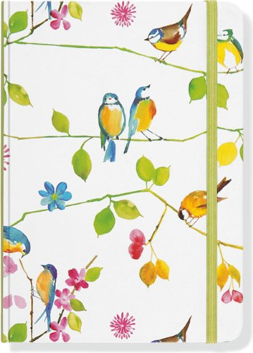 9781441304469: Watercolor Birds Journal (Diary, Notebook)
