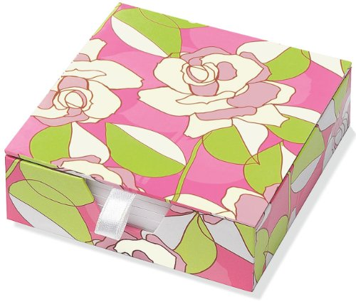 9781441304490: Contemporary Roses Boxed Desk Notes (Stationery, Note Pad)
