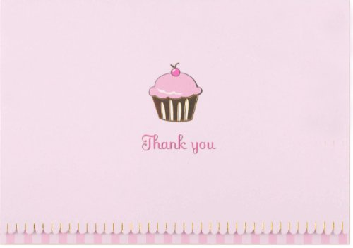 Cupcake Thank You Notes (Stationery, Note Cards): Inc. Peter Pauper Press