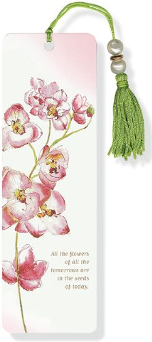 9781441304612: Orchid Beaded Bookmark