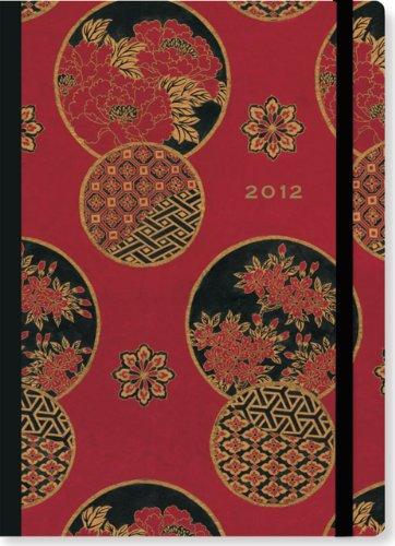2012 Asian Peonies Compact Engagement Calendar (Weekly Planner): Peter Pauper Press, Inc.