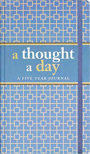 9781441305619: A Thought A Day: Five Year Journal (Diary, Notebook)