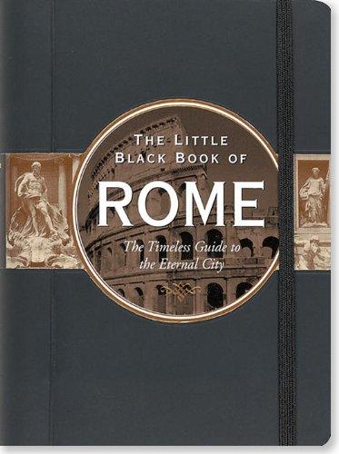 9781441306654: The Little Black Book of Rome, 2012 Edition (Little Black Books (Peter Pauper Hardcover))