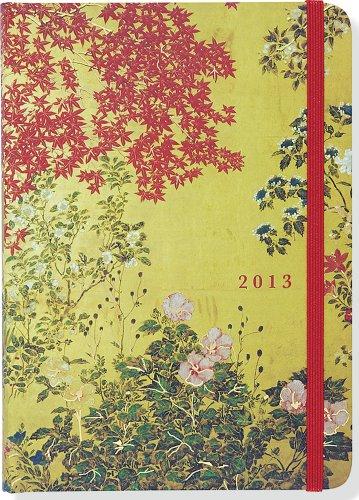 2013 Japanese Screen 16-month Weekly Planner (Compact Engagement Calendar): Peter Pauper Press