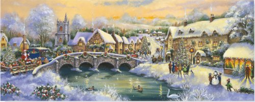9781441307392: Country Village Holiday Boxed Cards (Christmas Cards, Holiday Cards, Greeting Cards)