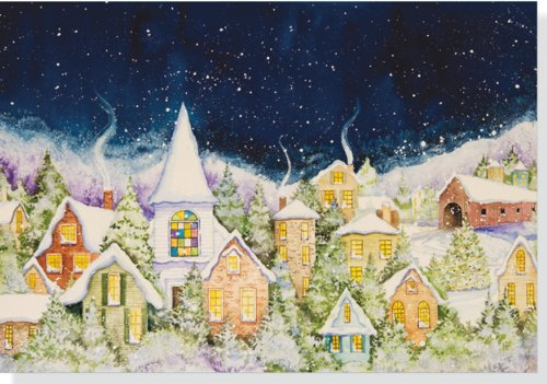 9781441307644: Peaceful Hamlet Holiday Boxed Cards (Christmas Cards, Holiday Cards, Greeting Cards)