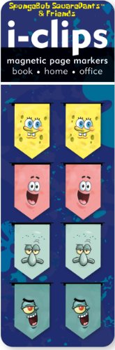 9781441307958: SpongeBob SquarePants i-Clips Magnetic Bookmarks