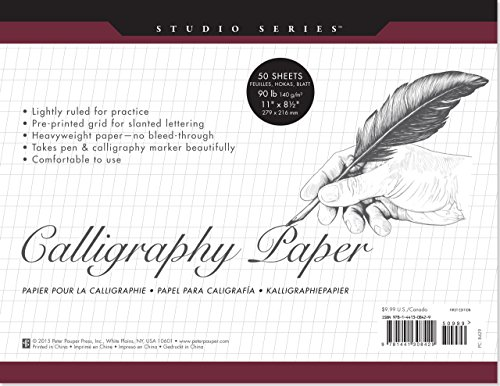 9781441308429: Studio Series Calligraphy Paper Pad (set of 50 heavyweight sheets)