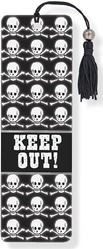 9781441308795: Skull & Crossbones 3-D Bookmark
