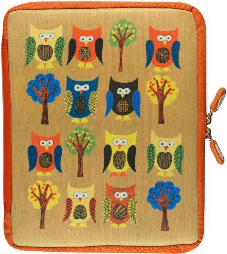 9781441309037: NeoSkin iPad Zip Sleeve, Owls (fits iPad 2 and new iPad) (Neoprene iPad Cover, iPad Case)