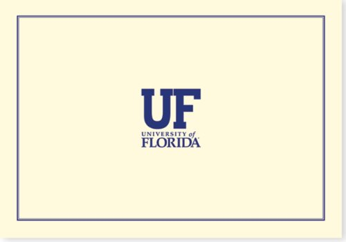 9781441309501: University of Florida Note Cards (Gators, Gator Nation, Stationery)