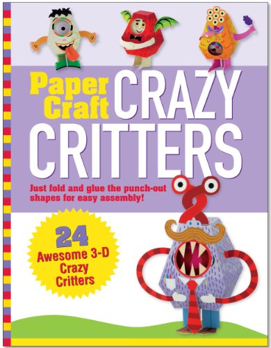 9781441310231: Paper Craft Crazy Critters