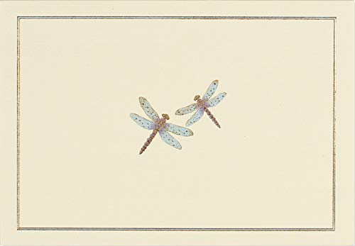 Blue Dragonfies Boxed Note Cards (14 Cards, 15 Envelopes)