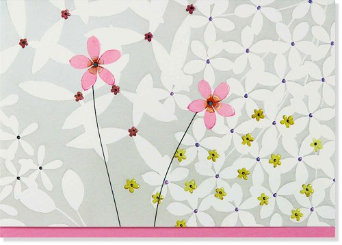 9781441310309: Jardin de Fleurs Boxed Note Cards (14 Cards, 15 Envelopes)