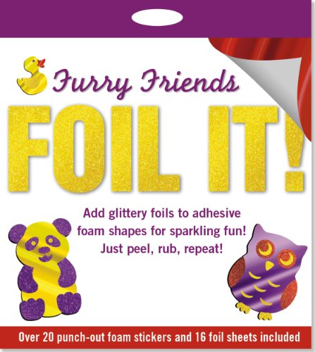 9781441310453: Foil It! Furry Friends (foam sticker activity kit)