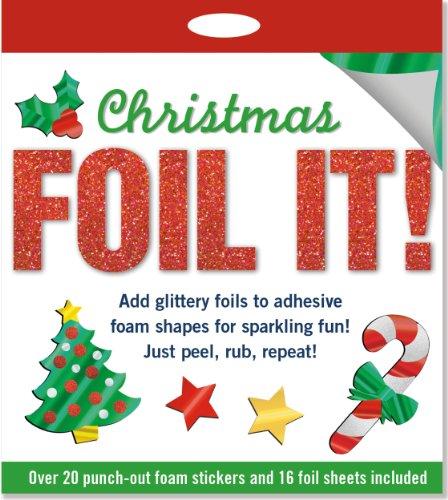 Christmas Foil It!: Foam Sticker Activity Kit