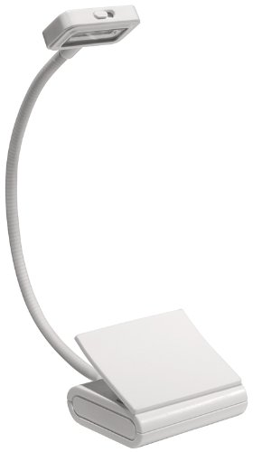 Trio Clip-On Reading Light, White, for Books, Kindle, and all E-Readers (Booklight): Peter Pauper ...