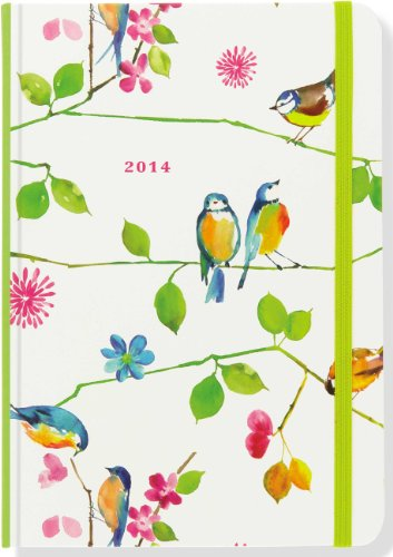 9781441311085: 2014 Watercolor Birds 16-Month Weekly Planner (Compact Engagement Calendar, Diary)