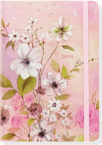 2014 Rosy Garden 16-Month Weekly Planner (Compact Engagement Calendar, Diary): Peter Pauper Press ...