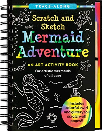 Mermaid Adventure Scratch & Sketch: An Art Activity Book for Artistic Mermaids of All Ages