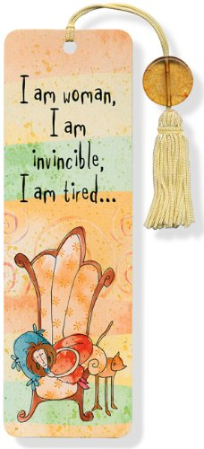 9781441311597: I Am Woman Beaded Bookmark
