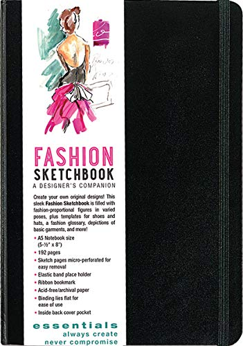9781441311726: Essentials Fashion Sketchbook (366 Figure Templates to create your own designs!) Fashion Sketchpad