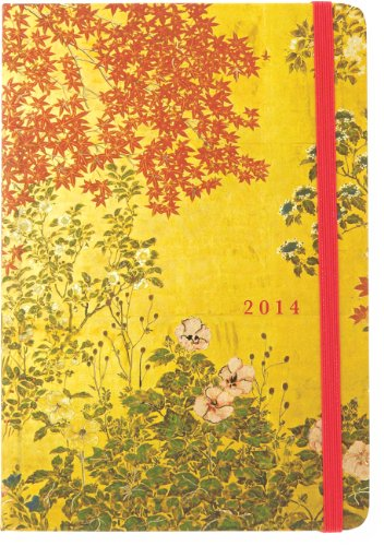 9781441312228: 2014 Japanese Screen 16-Month Weekly Planner (Compact Engagement Calendar, Diary)