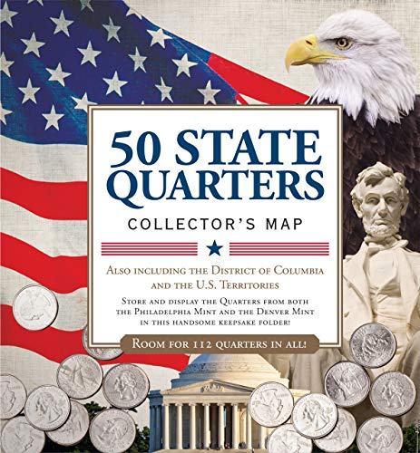 9781441312310 50 State Commemorative Quarters Collector S Map Includes Both Mints