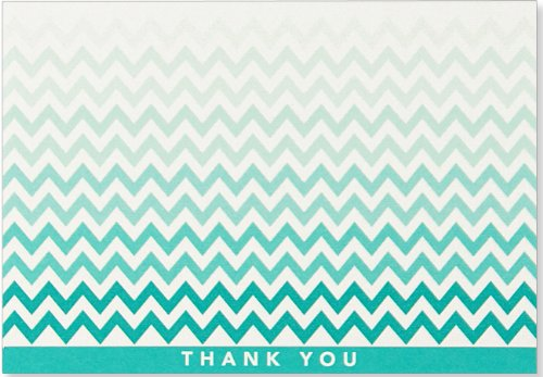 9781441313706: Chevron Thank You Notes (Stationery, Note Cards, Boxed Cards)